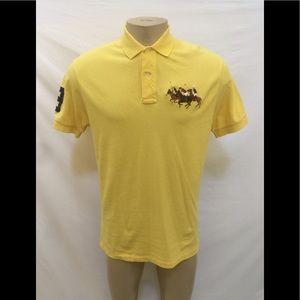 Polo By Ralph Lauren Sz M Large Logo Polo Shirt